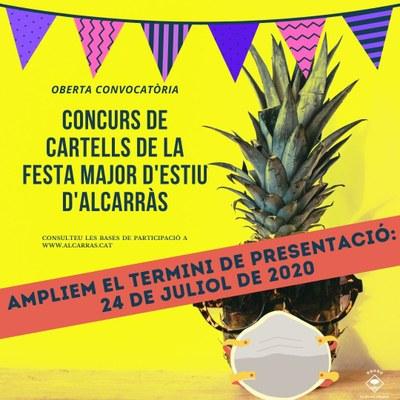 Alcarràs convoca el concurs per triar el cartell de la Festa Major d'estiu d'enguany