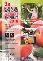 """3a Ruta de patrimoni """"Alcarràs en Fruit"""""""