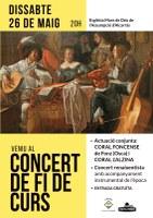 Concert de final de curs de la Coral Alzina