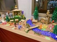 Exposició dels pessebres del IX Concurs de Pessebres Reciclats