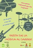 FESTA DE LA MÚSICA AL CARRER