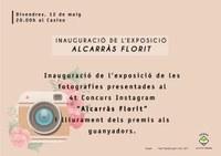 """INAUGURACIÓ DE L'EXPOSICIÓ DE FOTOGRAFIES DEL 4t CONCURS INSTAGRAM """"ALCARRÀS FLORIT"""""""
