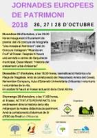"""Inauguració Exposició i Lliurament premis 2n concurs """"ALCARRÀS EN FRUIT"""" i 7è concurs """"UNA MIRADA AL PATRIMONI"""". Xerrada a càrrec de l'arquitecte municipal Òscar Masot """"HISTÒRIA DEL CREIXEMENT URBÀ D'ALCARRÀS"""""""