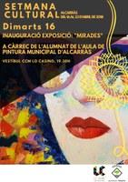 Inauguració exposició MIRADES