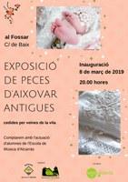 INAUGURACIÓ EXPOSICIÓ PECES ANTIGUES D'AIXOVAR al FOSSAR
