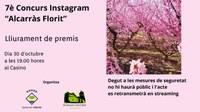 "Lliurament premis 7è Concurs Instagram ""Alcarràs Florit"""