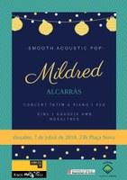 Mildred, concert íntim a piano i veu