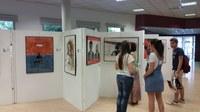 Mostra Artística dels alumnes de Batxillerat Col·legi Episcopal de Lleida.