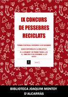 Recollida pessebres participants en el IX Concurs de Pessebres Reciclats