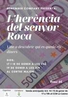 """TEATRE """"L'HERÈNCIA DEL SR. ROCA"""" a càrrec de REMEMBER COMPANY"""