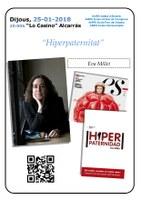 """Xerrada a càrrec d'Eva Millet: """"Hiperpaternitat"""""""