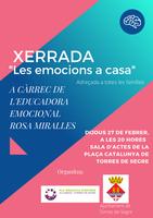 """Xerrada """"Les emocions a casa"""" a càrrec de Rosa Miralles"""