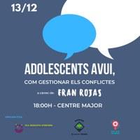 Xerrada: Resolució de conflictes entre joves i les famílies