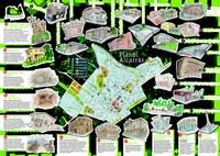 Planol de la Ruta de Patrimoni 2016 de la vila d'Alcarràs.