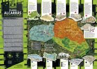 Planol de la Ruta de Patrimoni 2016 del terme d'Alcarràs.
