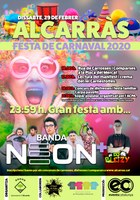Cartell carnaval 2020 Alcarras