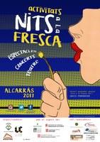 Cartell guanyador del concurs de cartells Nits a la fresca 2017