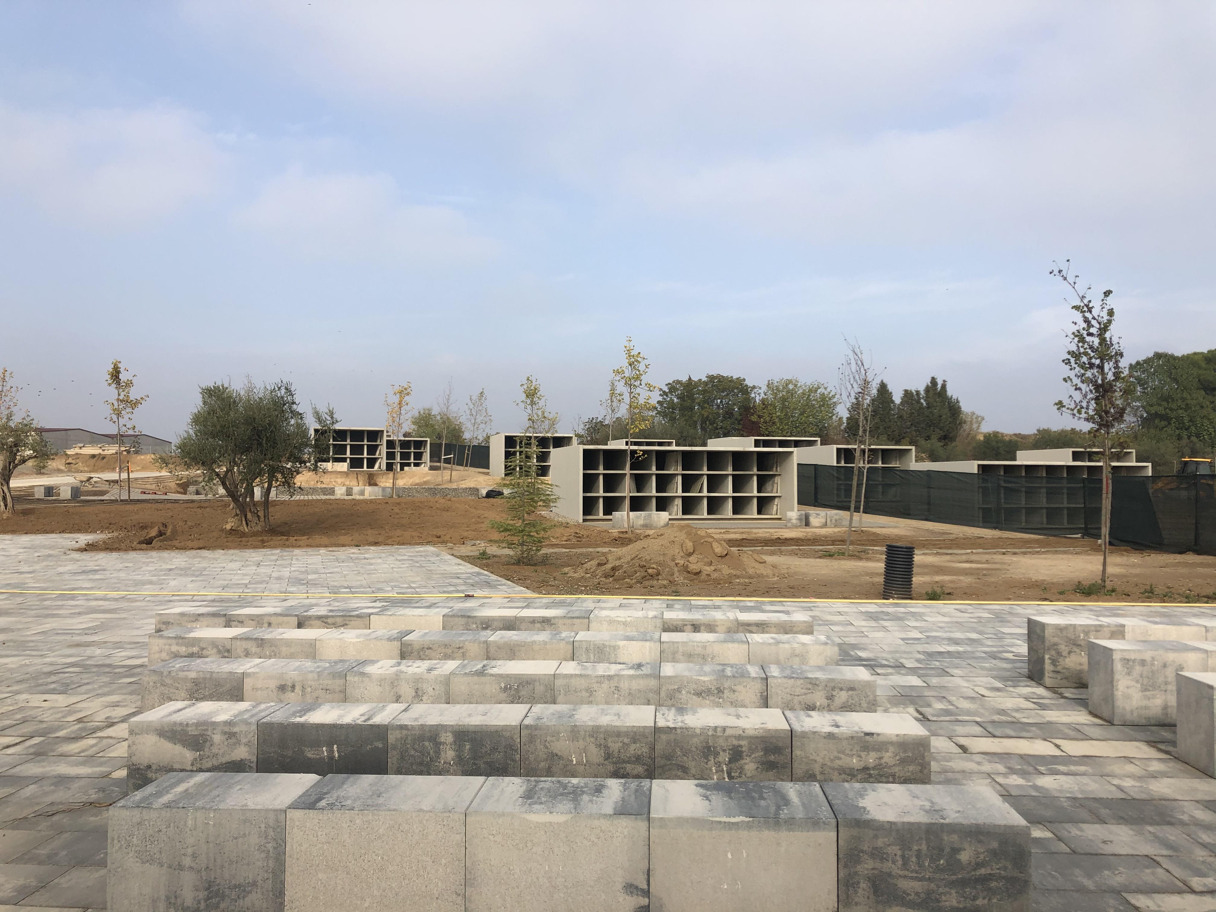 El nou cementiri d'Alcarràs, a punt d'obrir les seves portes