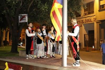 Alcarràs celebra la Diada Nacional de Catalunya