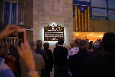 Alcarràs commemora l'1 d'Octubre amb diversos actes a la vila