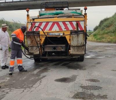 Alcarràs continua amb la millora de la seguretat vial i la mobilitat amb una nova inversió en camins del municipi