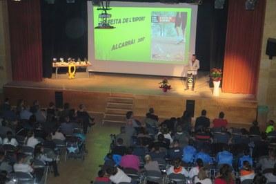 Alcarràs entrega els premis d'esport ALZINA en una Festa participativa i emotiva