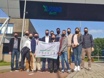 Alcarràs i altres municipis del Baix Segrià visiten Holanda per conèixer projectes vinculats a l'economia verda