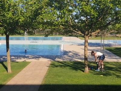 Alcarràs inaugura la temporada de piscines