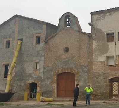Alcarràs inicia les feines d'estudi prèvies a la recuperació de la Casa de Montagut