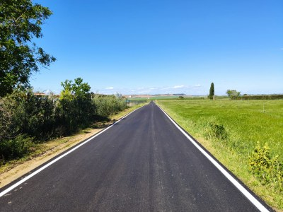 Alcarràs renova el camí del km 7 i completa el circuit de vials asfaltats que connecta la partida de Montagut i la L-800