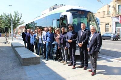 Alcarràs tindrà a partir de dilluns un nou bus exprés que unirà la localitat amb Lleida ciutat