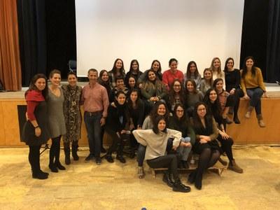 Alumnes de la UDL elaboren un projecte didàctic per al Centre d'Interpretació del Món Rural d'Alcarràs