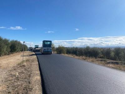 El camí del Coll del Mixó, asfaltat