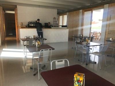 El Camp de Futbol compta amb un servei de cafeteria