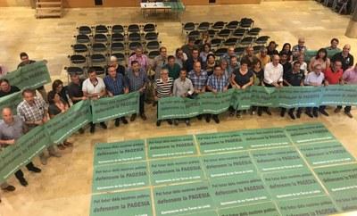 El manifest d'Alcarràs suma adhesions en defensa de la pagesia