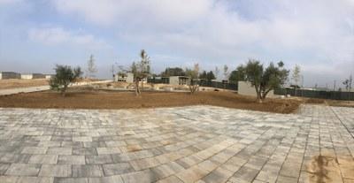 El nou cementiri d'Alcarràs, a punt per entrar en funcionament