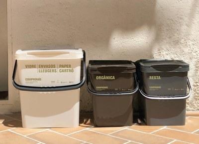 El volum de residus per habitant i any a Alcarràs, inferior a la mitjana nacional en un 40%