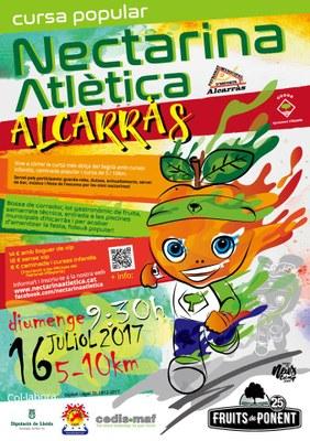 Ja et pots inscriure a la Nectarina Atlètica Fruits de Ponent