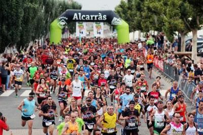 Joel Adan i Rosamari Carulla guanyen la Nectarina Atlètica d'Alcarràs