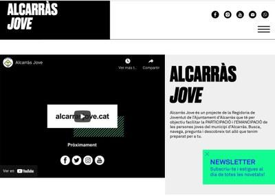 L'Ajuntament activa alcarrasjove.cat per afavorir l'emancipació i l'autonomia de la joventut alcarrassina