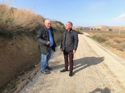 L'Ajuntament completa la millora del camí del Cap de la Vall