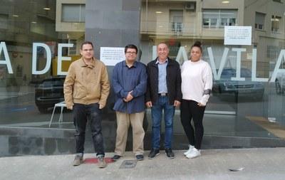 L'Ajuntament d'Alcarràs contracta tres joves aturats per a formar-los