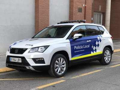 L'Ajuntament d'Alcarràs estalvia gairebé 6.000 euros en la renovació d'un vehicle de la Policia Local