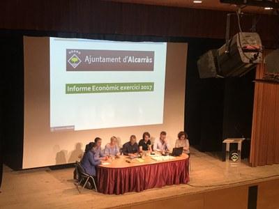 L'Ajuntament d'Alcarràs impulsarà la modalitat dels pressupostos participatius per al 2019