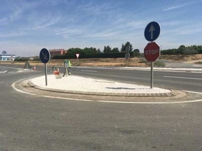 L'Ajuntament d'Alcarràs millora l'accés al municipi des de la carretera de Vallmanya