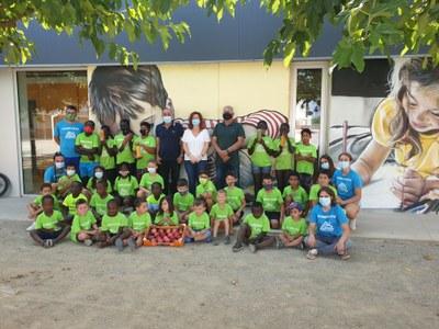 L'Ajuntament i Fruits de Ponent promocionen l'alimentació saludable dels infants en les Estades d'Estiu