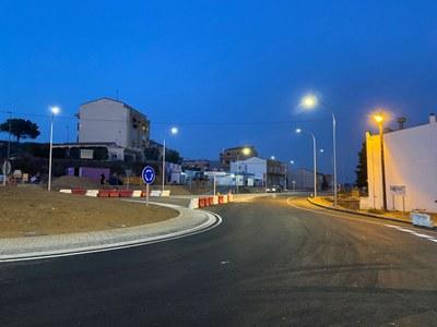 La connexió de l'Avinguda Catalunya i la Carretera de Vallmanya es reobre al trànsit aquest dijous 19 de desembre