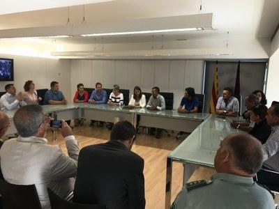 La consellera Serret dóna suport a Alcarràs per les càrregues de la Guàrdia Civil
