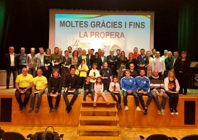La IV Festa de l'Esport d'Alcarràs destaca la contribució de les entitats a la formació en valors dels infants