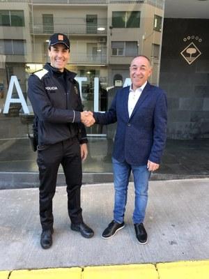 La Policia Local d'Alcarràs incorpora dos nous agents en pràctiques